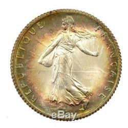 Lot de 20x 1 Franc Semeuse 1920 argent jamais circulé FDC