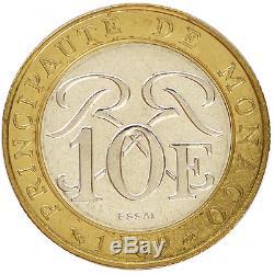 MONACO Essai 10 Francs 1989 (FDC)(Uncirculated)