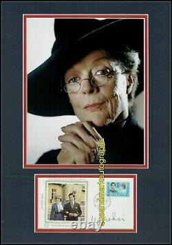 Maggie Smith FDC Professor McGonagall Harry Potter Signed Autograph UACC RD 96