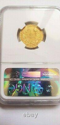 Magnifique pièce de 20 francs or 1851 Cérès PCGS MS 65 rare qualité FDC