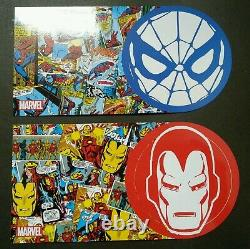 Malaysia Marvel 80 Years 2019 Cartoon Heroes FDC folder set MNH official limit