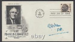 Mohammed Ayub Khan, President of Pakistan, signed FDR FDC with Documentation