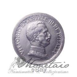 (Monetaio) Vittorio Emanuele III 5 Lire 1914 Quadriga Briosa SPL/FDC Tevere