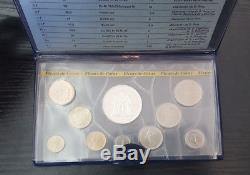 Monnaie de Paris Coffret FDC Fleur de Coin 10 pièces 1980