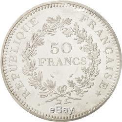 Monnaies, France, 50 Francs, 1974, FDC, Argent, KMP509, Gadoury223. P1 #18409