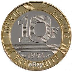 Monnaies, Vème République, 10 Francs Génie de la Bastille #12909