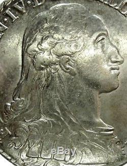 NAPOLI (Ferdinando IV) 100 Grana 1784-RR, SPL+(/)FDC