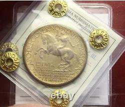 NL VEIII Italia Buono da 2 lire 1928 Fiera di Milano Q. FDC Perizia Esposito M