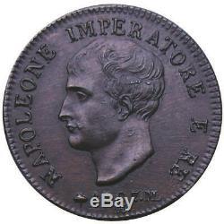 Napoleone I (1805-1814) Soldo 1807 Sigle ML e GS PP781 RRRRR FDC