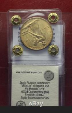Nl Veiii 50 Lire Oro Aratrice 1912 Rara Q. Fdc Perizia Nip Raponi Lucio