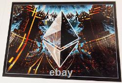 ONLY 6 Worldwide 4 Set Ersttagsbrief First Day Cover FDC CS2 Crypto Stamp 2.0
