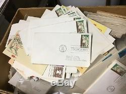 Old Massive US FDC First Day Cover Collection! Estate Sale! Must See