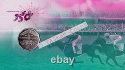 PNC Australia 2010 Melbourne Cup 150th Anniversary RAM 50c Coin Limited Ed 1861
