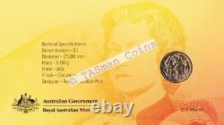 PNC Australia 2016 Decimal Currency Centenary RAM $1 Commemorative Coin