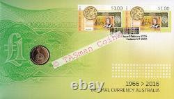 PNC Australia 2016 Decimal Currency Centenary RAM $2 Commemorative Coin