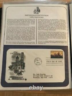 POSTAL STAMP COLLECTION BOOK U. S. FIRST DAY COVERS And SPECIAL COVERS