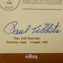 Paul Tibbets Enola Gay Hiroshima Pilot Signed First Day Cover