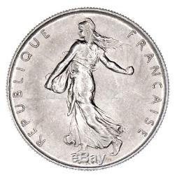 Pn7086 France Rare 1 Franc Semeuse Nickel 1960 Fdc
