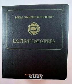 Postal Commemorative Society US First Day Covers 3/1/1972 7/17/1989