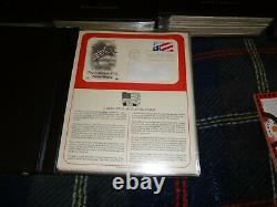 Postal Commemorative Society US First Day Covers Collection 1980-1992 12 Binders