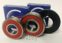 Premium Nachi Bearing + Oem Seal Kit For Samsung Front Load Washer, New