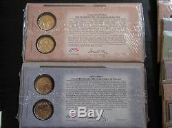 Presidential Dollar First Day Covers Presidents Washington thru Taft (1 thru 27)
