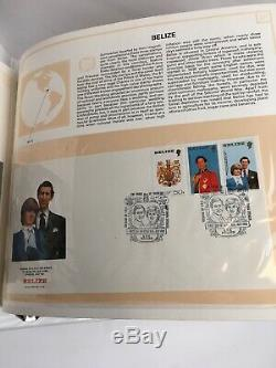 Prince Charles And Lady Diana Royal Wedding First Day Covers From 104 Countries