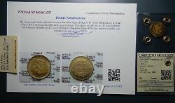 REGNO D' ITALIA Vittorio Emanuele II 5 lire 1863 FDC Periziata MORUZZI ROMA
