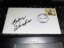 RODNEY DANGERFIELD (D-2004) signed 6.5 X 3.5 FDC / Judge Smails Caddyshack