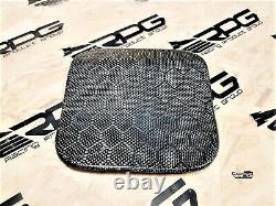 RPG Honeycomb Carbon Fuel Door Cover for 03-08 Mitsubishi Evolution EVO 7 8 9