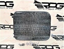 RPG Honeycomb Carbon Fuel Door Cover for Subaru Impreza WRX STi 02 03 04 05 GDB