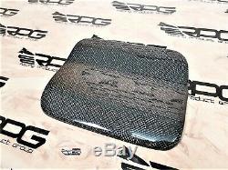 RPG Honeycomb Carbon Fuel Door for 03-08 Mitsubishi Lancer Evolution EVO 7 8 9