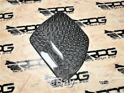RPG Honeycomb Carbon Fuel Door for 08-14 Subaru Impreza WRX STi GRB GRF 5D Hatch