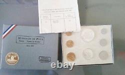 Rare Coffret / Set Francs Fdc 1968 Complet En Parfait Etat Voir Photos