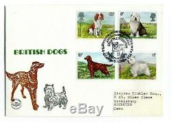 Rare Philcovers FDC British Dogs 7th Feb 1979 First Day Cover Stamps