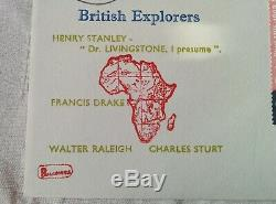 Rare Philcovers FDC British Explorers 18th April 1973 First Day Cover Stamps