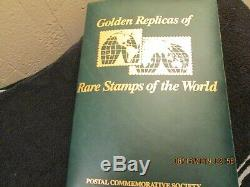 Rare Stamps Replica Collection Antigua & Barbuda 24kt Gold MINTED 4/4/1986