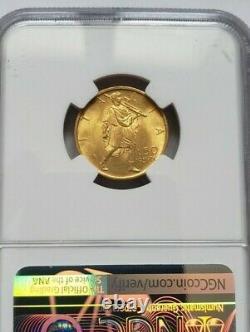 Rare qualité pour une 50 lire or 1931 R FDC Vittorio Emmanuele III NGC MS64