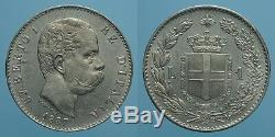 Regno D'italia Umberto I 1 Lira 1887 Milano Fdc