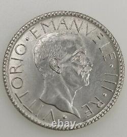 Regno DItalia 1900 1943 Vittorio Emanuele III 20 Lire 1927 FDC