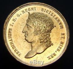 Regno Delle Due Sicilie Ferdinando I 15 Ducati Fdc (89493)
