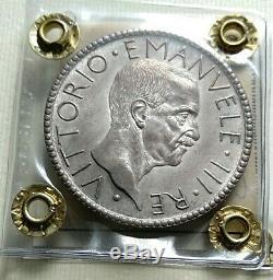 Regno d'Italia 20 lire littore 1927 anno VI FDC periziata Cavaliere