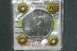 Repubblica Italiana 100 Lire 1957 Minerva Q. Fdc