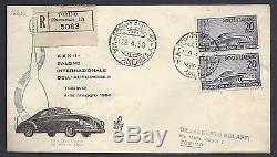 Repubblica Italiana 1950 FDC Venetia Club Salone Auto