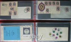 S2211 Singapur Singapore über 600 FDC 1949 2012 Sammlung in 14 Alben