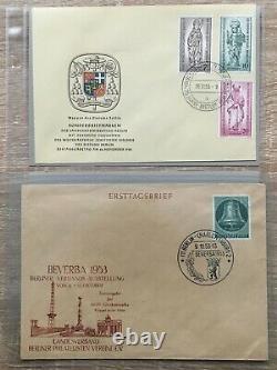 S5-AD-25 Berlin komplette Sammlung amtliche FDC´s mit BRD 227, MI über 4000