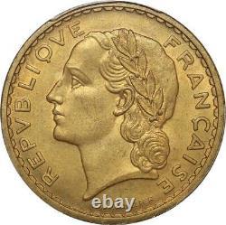 S8772 France Rare 5 Francs Essai Lavrillier 1939 PCGS SP65 Bronze Aluminium FDC