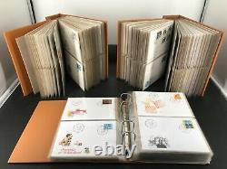 Schweiz Sammlung Ersttagsbriefe/ FDC aus 1981 2004 6224