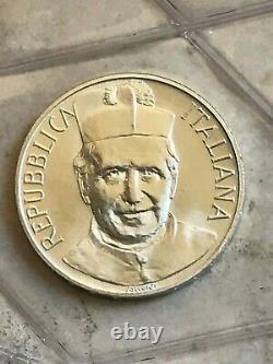 Serie Divisionale Zecca Rep. Italia 1988 Don Bosco 2 x 500 Lire argento Fdc