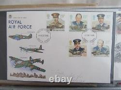 Set of over 280 first day covers 1980-2005